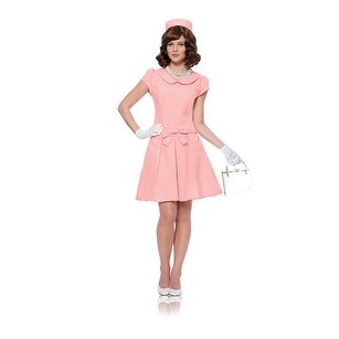 Womens Pink First Lady Historical Halloween Costume