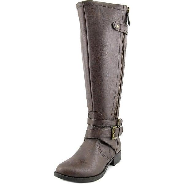 Indigo Rd. Cherish Wide Calf Women Round Toe Synthetic Knee High Boot