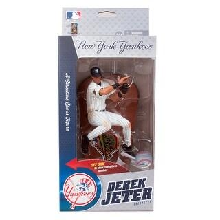 "MLB 6"" Derek Jeter (New York Yankees) 1996 World Series SportsPicks Figure"