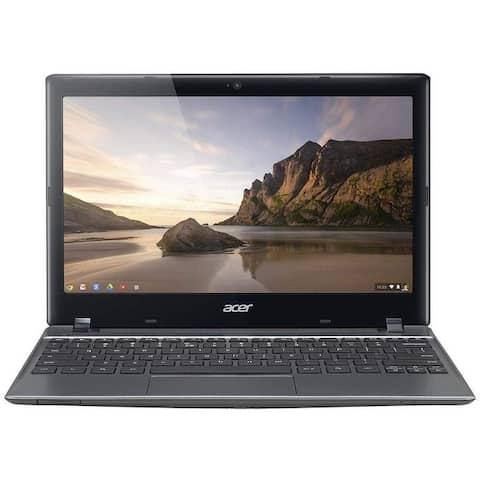 """Acer C720-2103 Intel 1.4GHz 2GB 16GB SSD 11.6"""" LED Chromebook"""