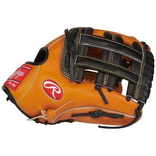 """Rawlings Heart of the Hide 12"""" Outfield Glove (Brown/Black/Right Hand)"""