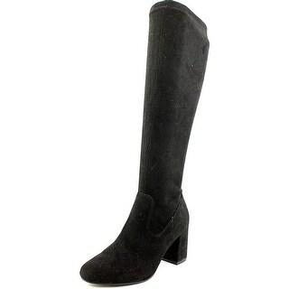 Diba Brodie   Round Toe Canvas  Knee High Boot
