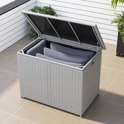 Corvus Lattice 127 Gallons Outdoor Cushion Storage Box