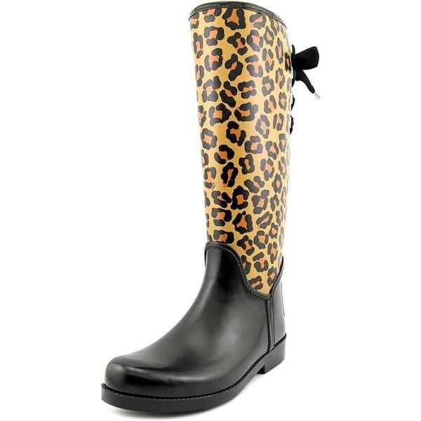 Coach Tristee Women Black/Neutral Snow Boots