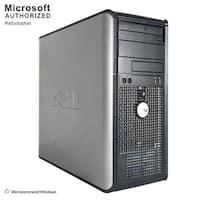 Dell OptiPlex 760 Computer Tower Intel Core 2 Duo E7500 2.93G 4GB DDR2 250G Windows 10 Pro 1 Year Warranty (Refurbished)