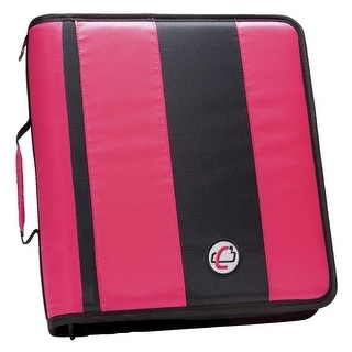 case it classic o ring zipper binder 13 x 12 x 3 inches black 2