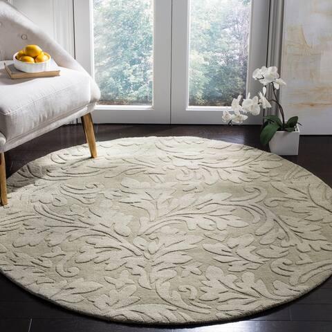 Safavieh Handmade Impressions Yulisa Modern Scrolls Wool Rug