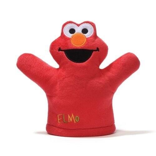 Gund Sesame Street Elmo Mini Puppet Plush - 8.0 in. x 1.0 in. x 7.0 in.