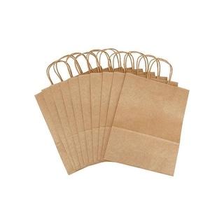 Darice Paper Bag Kraft 9.75x12.75x4.75 10pc