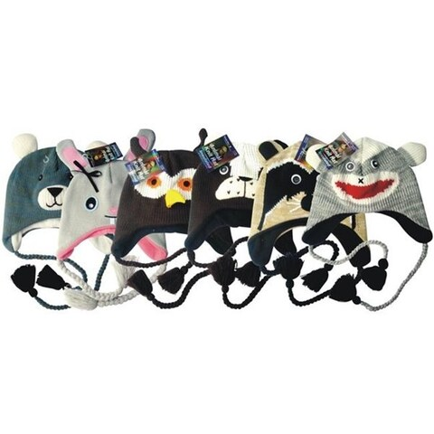 DDI 1216974 Knitted Animal Hats Case of 72