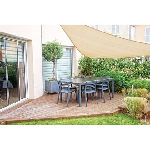 16.5-ft Triangular Shade Sail