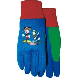 Midwest Gloves & Gear MY102T Mickey & Donald Jersey Kids Gloves, Youth