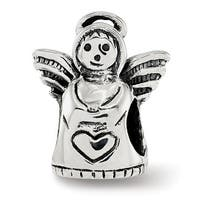 Sterling Silver Reflections Angel Bead (4.5mm Diameter Hole)