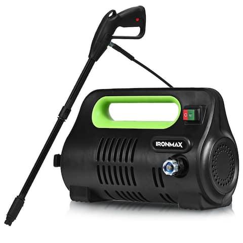 "1800 PSI Portable Electric High Pressure Washer 1.96 GPM 1800 W-Green - 17.5"" x 8.5"" x 10.5""(L x W x H)"