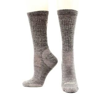 Ariat Socks Mens Merino Hiker Lightweight Wool Acrylic - XL