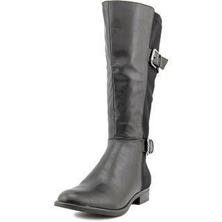 Life Stride Rockin W Round Toe Synthetic Knee High Boot