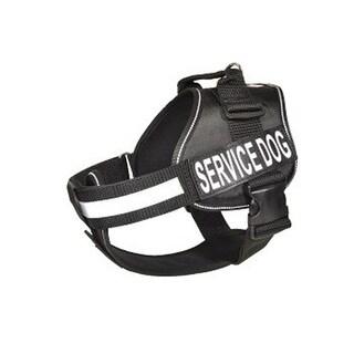 Dogline N0200-1 15-19 in. Unimax Multi Purpose Dog Harness, Black