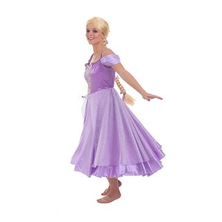 Womens Tower Maiden Rapunzel Halloween Costume
