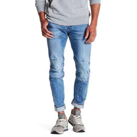G-Star Raw Mens Jeans Blue Size 31X32 Tapered Seamed Slim Stretch