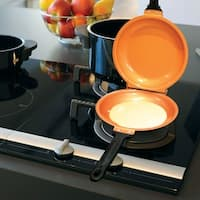 Pancake Flip Pan - Double Sided Non-Stick Cerami-Tech Copper Pan