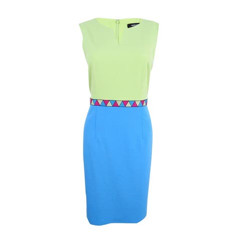 Nine West Women's Color Blocked Dress