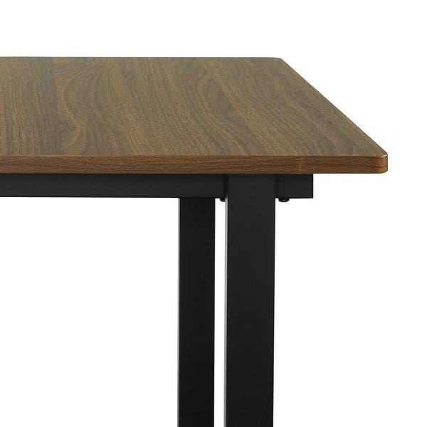 Award Winning Design Zinus Alto Rectangular Dining Quick Snap Bolt /& Nut Free Easy Assembly Computer Table Espresso Office Desk