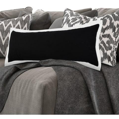 Nox Empire Bordered Throw Pillow