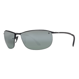 Ray Ban RB3542 002/5L Black Grey Mirror Chromance Polarized Sport Sunglasses - 63mm-15mm-135mm