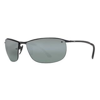 Ray Ban RB3542 002/5L Black Grey Mirror Chromance Polarized Sport Sunglasses - 63mm-15mm-135mm
