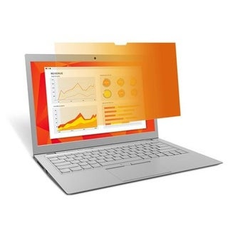 16-9 Ratio Gold Touch Privacy Filter for 13.3 in. Full Screen Laptop