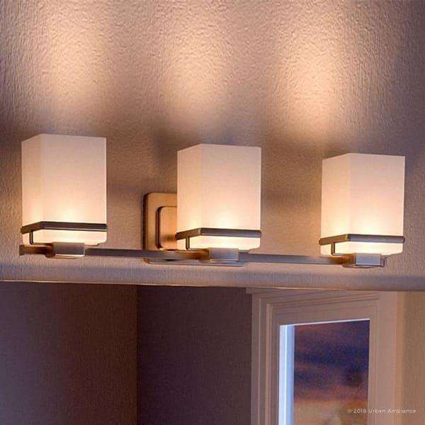Luxury Transitional Bathroom Vanity Light 6 5 H X
