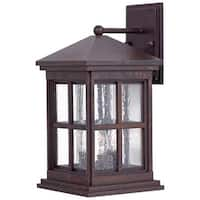 The Great Outdoors GO 8562 3 Light Outdoor Wall Sconce from the Berkeley Collection