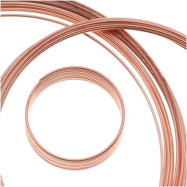 BeadSmith Assorted Memory Wire - Copper Plated - 10 Loops Per Size
