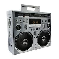 "Boom Box 16""x13""x5.25"" Flat Empty Gift Box, Lot of 5 - Multi"