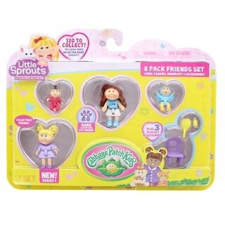 Little Sprouts 8-Pack Friends Set w/ Eden Raine & Sarah Caroline - multi