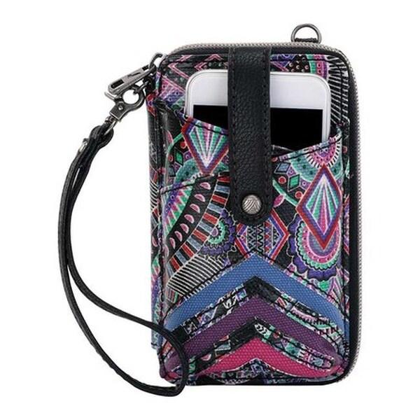 differently e1c32 e0501 Shop Sakroots Women's Artist Circle Smartphone Wristlet II Onyx ...