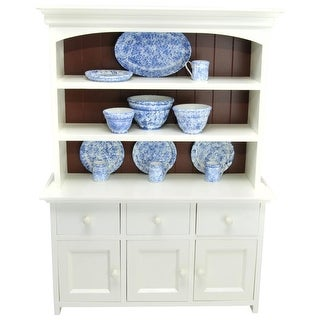 Link to American Farmhouse Collection Step Back Kitchen Cupboard Hutch, Fits 18 Inch American Girl Doll Furniture Similar Items in Dolls & Dollhouses
