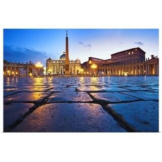 """""""Vatican City"""" Poster Print"""