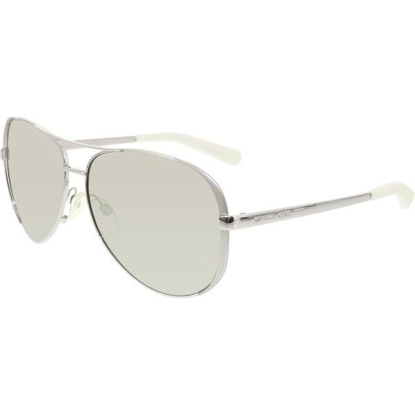 Womens 5004 CHELSEA 101311 59 Rectangular Sunglasses 59, Gunmetal/Black/Gradient Michael Kors