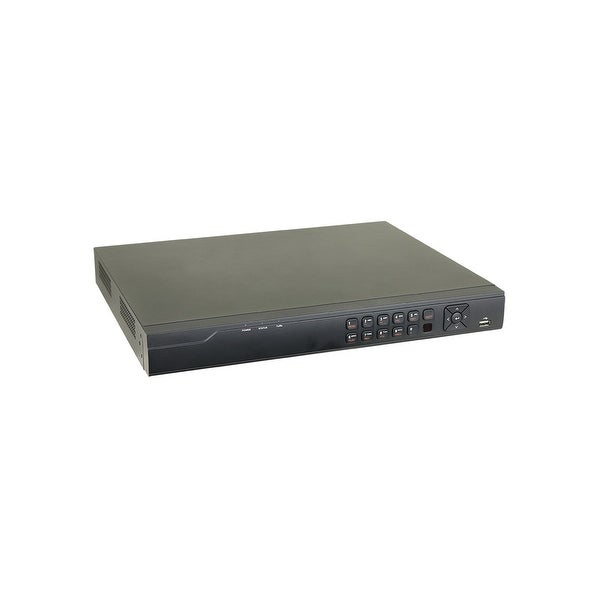 Monoprice 8 Channel DVR up to 5MP HD-TVI, H.265+, 5-in-1 1080P TVI, IP, Analog, ADH, 2 Channel CVI HDMI