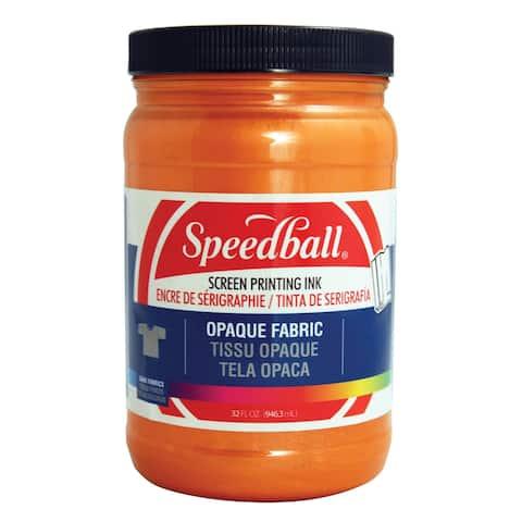 Speedball 4829 opaque fabric screen printing ink sherbet