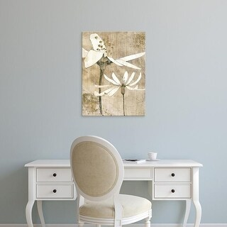 Easy Art Prints Avery Tillmon's 'Pencil Floral II' Premium Canvas Art