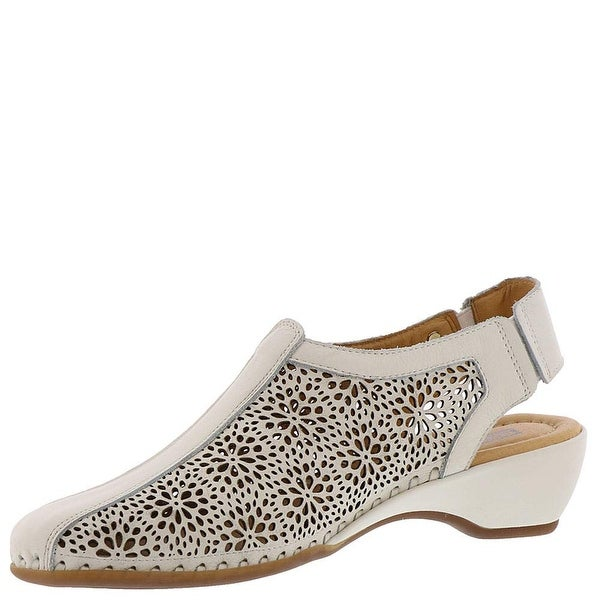 9de3fe08a71 Shop Pikolinos Womens 696-1558 Leather Closed Toe Casual Slingback ...