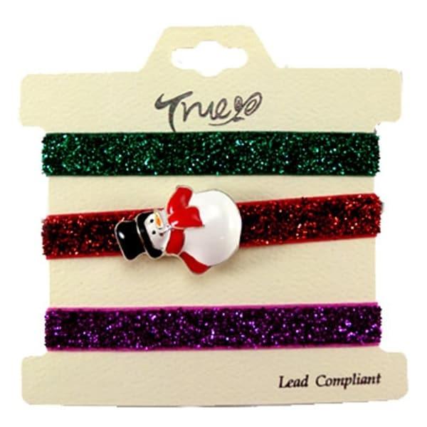 Shop Jb5051-Srd Christmas Snow Man Hair Tie Bracelet Wrist Band ... fe5732ec327