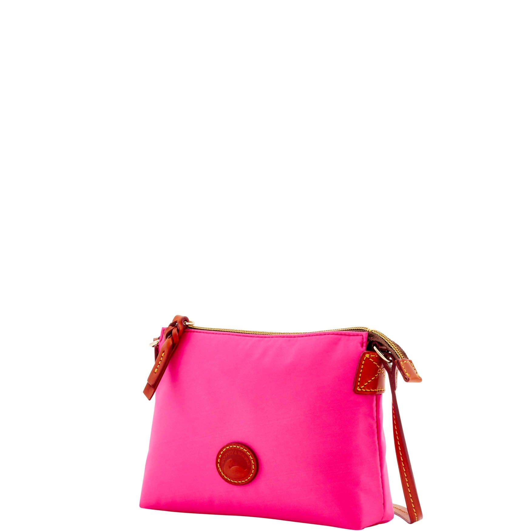 6dc738168 Shop Dooney & Bourke Nylon Crossbody Pouchette (Introduced by Dooney &  Bourke at $88 in Feb 2017) - Free Shipping On Orders Over $45 - Overstock -  14210330