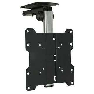 Mount-It! TV Ceiling Mount Kitchen Under Cabinet TV Bracket Folding Swivel for 17 to 37 inch LCD, TV, LED, Monitor