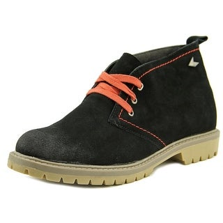 MTNG 82630 Men  Round Toe Suede Black Chukka Boot