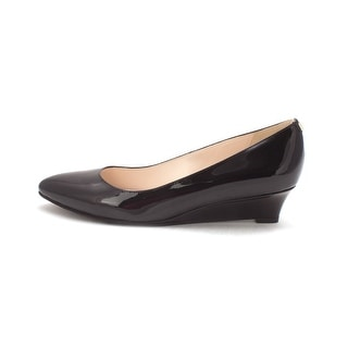 Cole Haan Womens 14A4192 Closed Toe Wedge Pumps Black Size 6.0