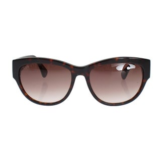 TOD'S Brown Plastic Frame UV Lens Sunglasses - One size