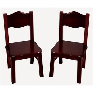Guidecraft G86203 Classic Espresso Extra Chairs